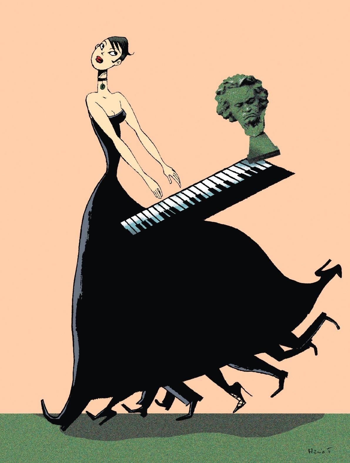 Elsa Fottorino - Illustrations : Éric Heliot