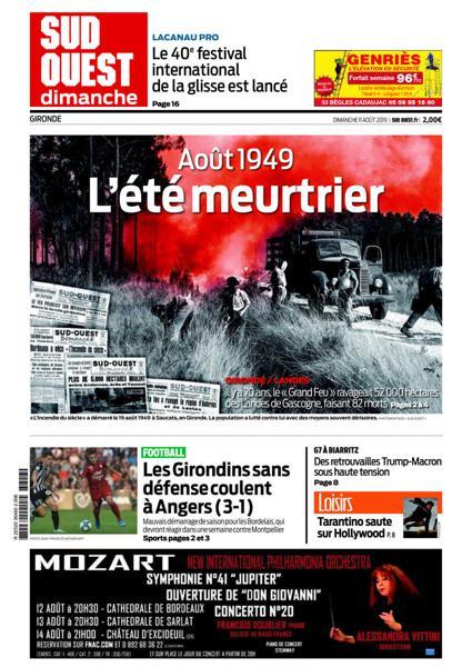 Edition du 11 Août 2019