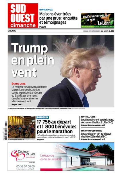 Edition du 27 Oct. 2019