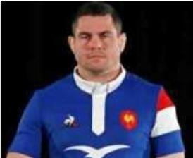 Guilhem Guirado,Capitaine du XV de France,Recueilli par D. K.-G.