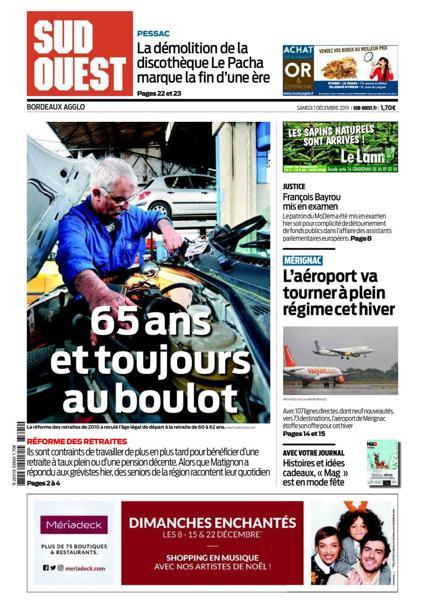 Edition du 7 Déc. 2019