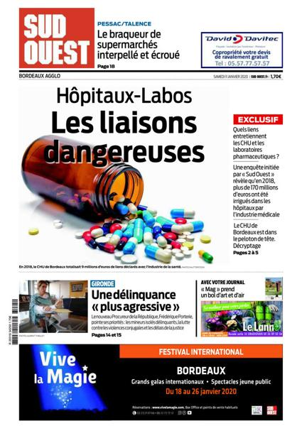 Edition du 11 Janv. 2020