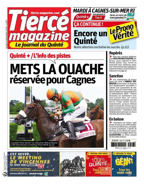 Edition du 16 Déc. 2019