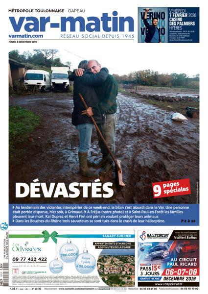 Edition du 3 Déc. 2019