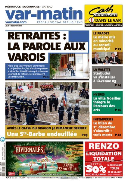 Edition du 5 Déc. 2019