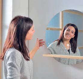 un miroir connect pour la salle de bain lirelactu. Black Bedroom Furniture Sets. Home Design Ideas