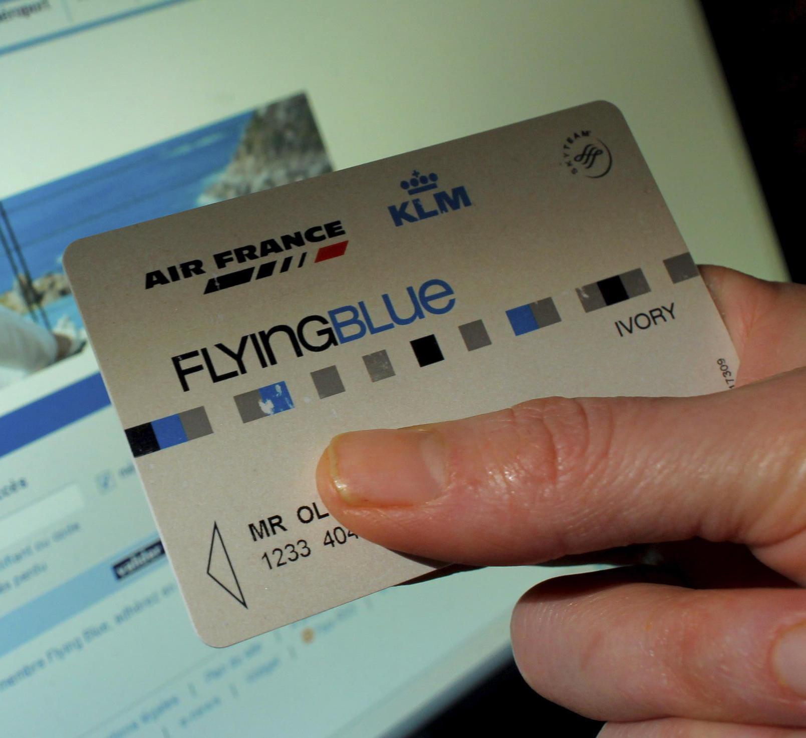 Carte Flying Blue Ivory.Air France Simplifie Son Programme De Fidelite Lirelactu