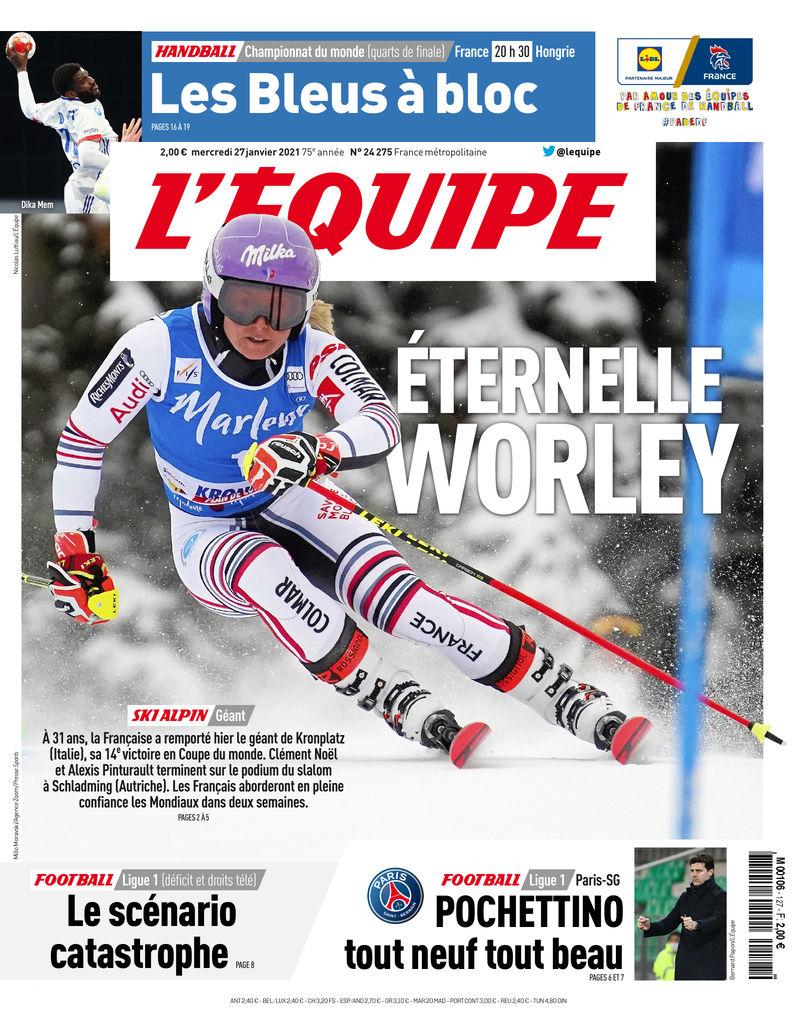 prima pagina l equipe francia