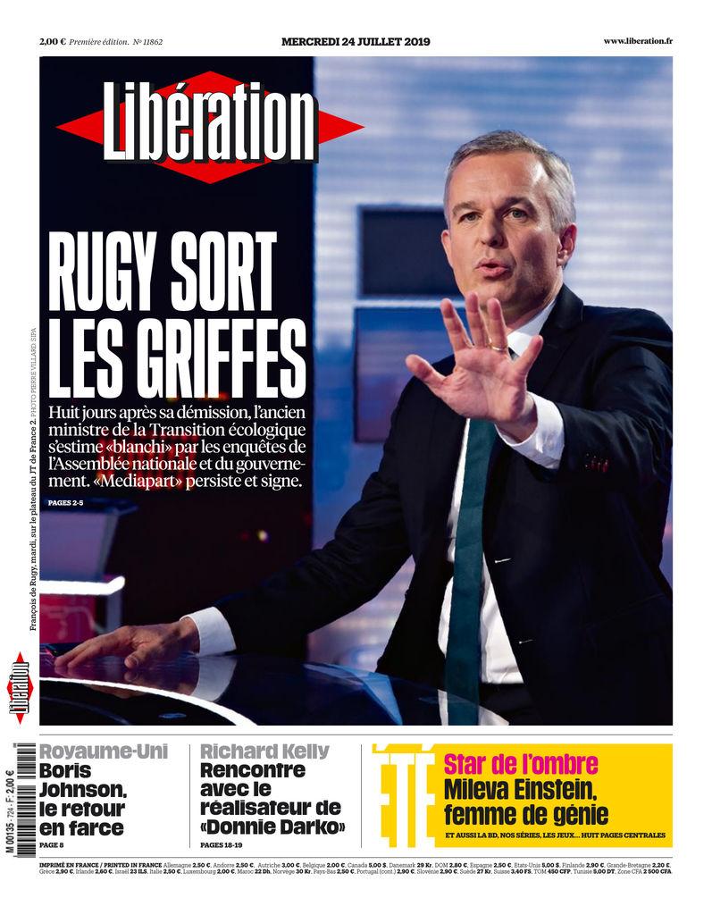 c780bf32b0a78 Aujourd'hui dans Libération - LireLactu