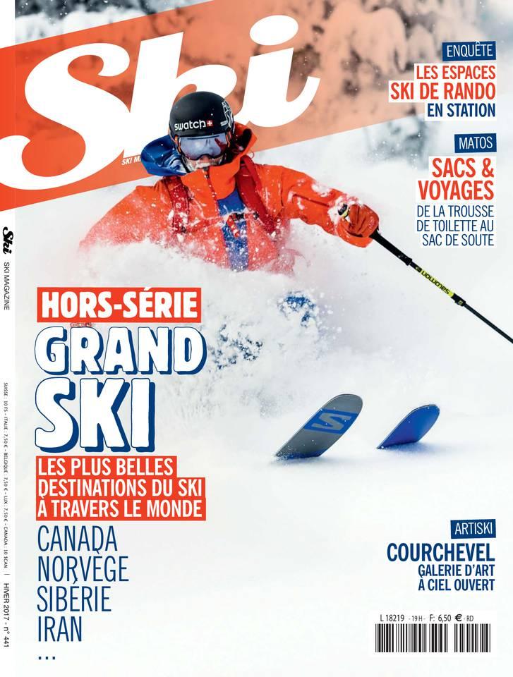 Ski Magazine N°441 du 01 février 2017 à télécharger sur iPad