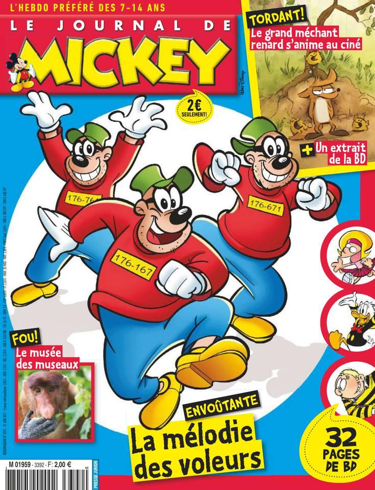 Le Journal de Mickey N°3392 du 21 juin 2017 à télécharger sur iPad