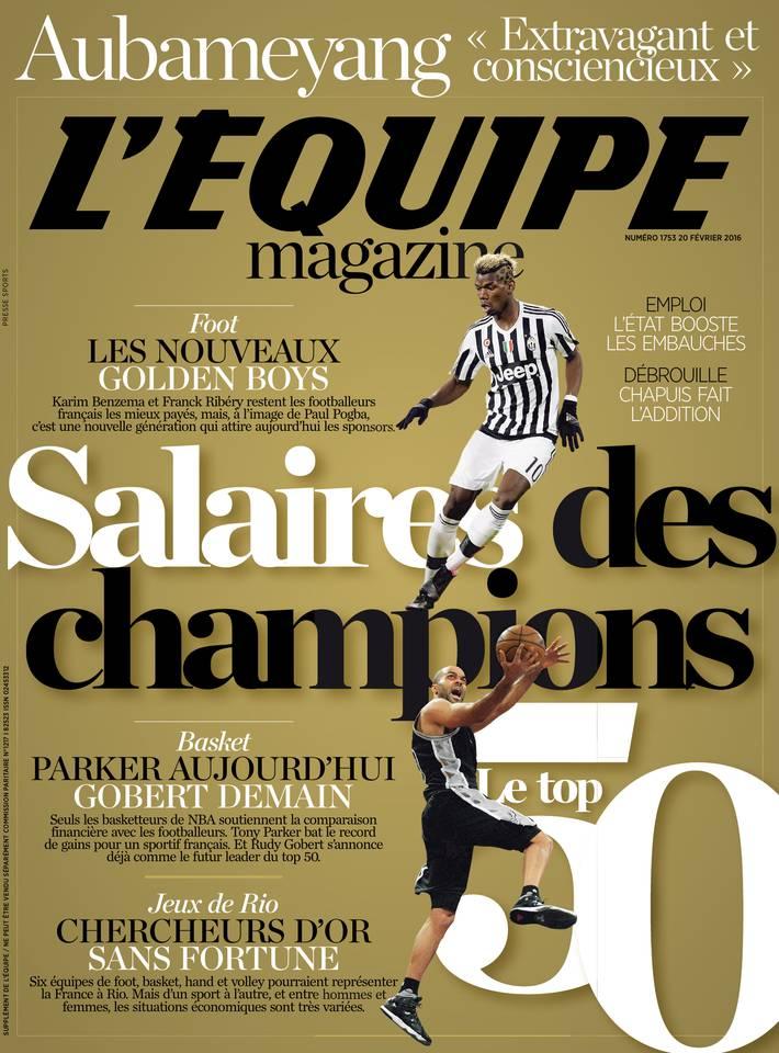 L'Équipe Magazine n° 1753 du samedi 20 février 2016