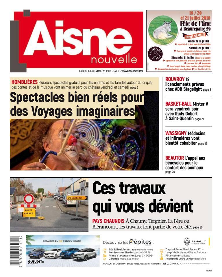 Aisne Nouvelle - Saint Quentin Thierarche du 18 juillet 2019