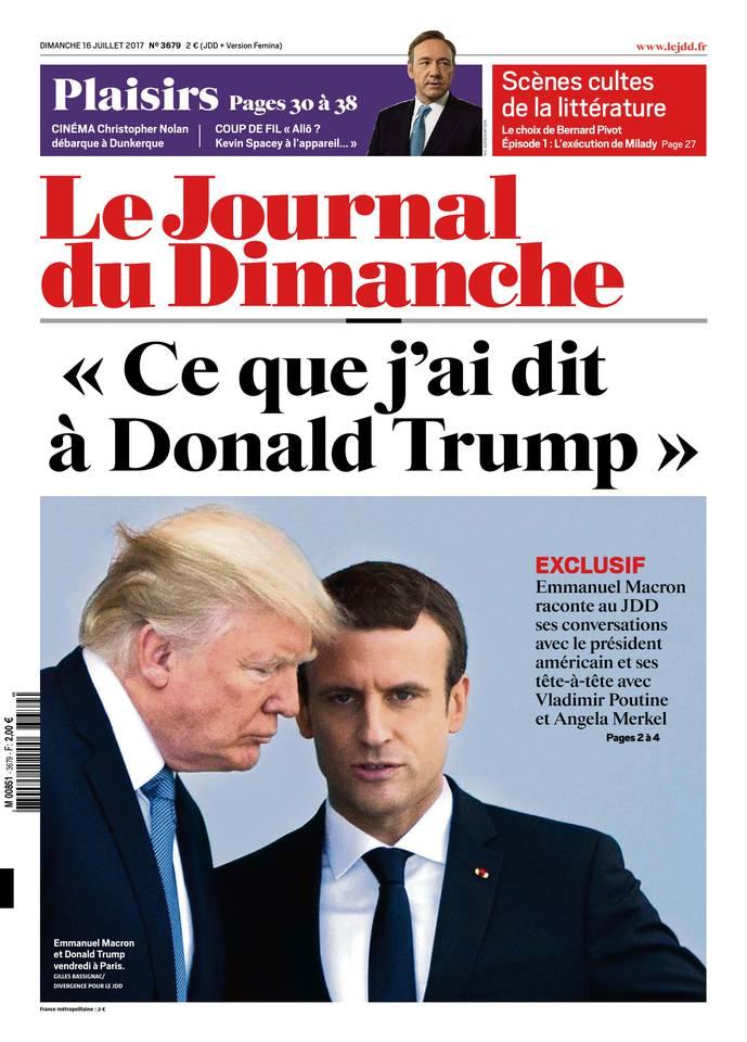 Abonnement Journal du Dimanche Pas Cher avec le BOUQUET ePresse.fr