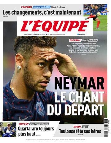 L'Équipe - 17/06/2019  