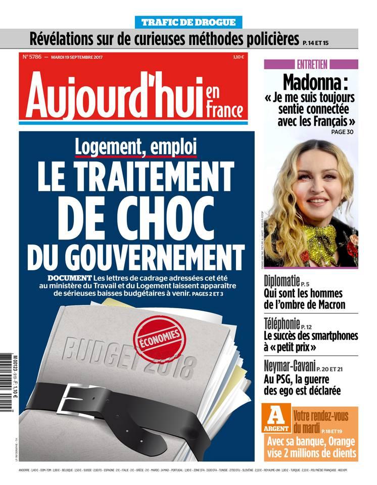 Aujourd'hui en France du 19 septembre 2017 à télécharger sur iPad