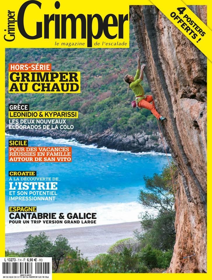 Grimper Magazine N°178 du 15 janvier 2017 à télécharger sur iPad
