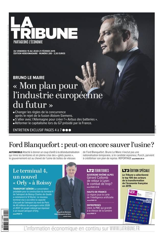 Abonnement à La Tribune Hebdo Pas Cher avec le BOUQUET ePresse.fr
