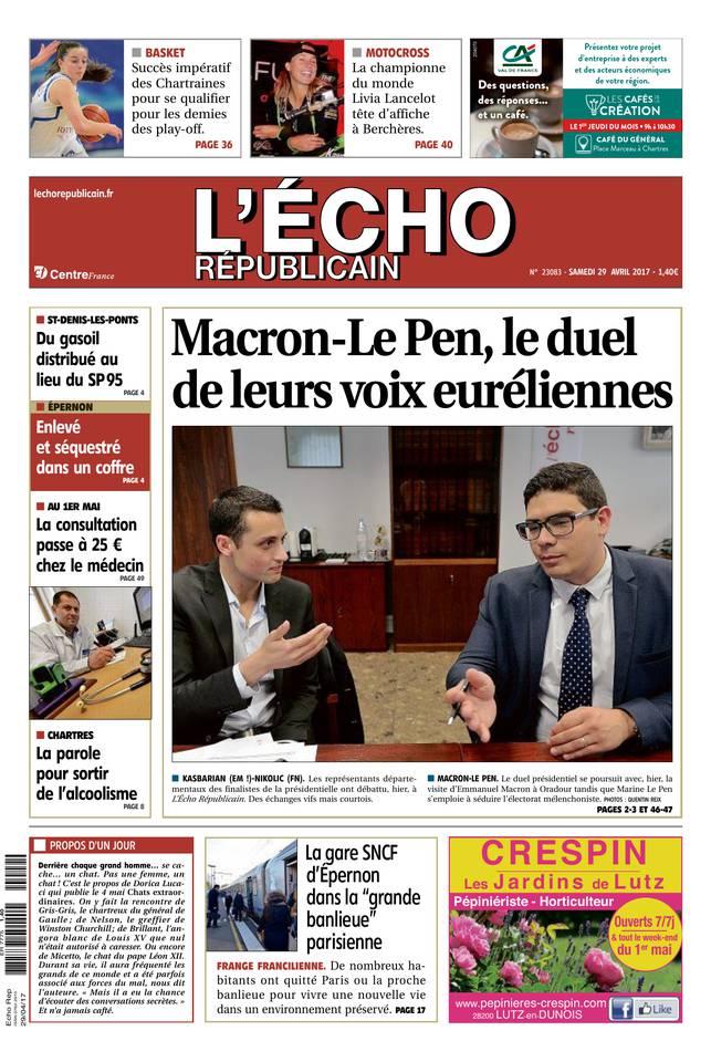 Abonnement L'Écho Républicain Pas Cher avec BOUQUET INFO ePresse.fr