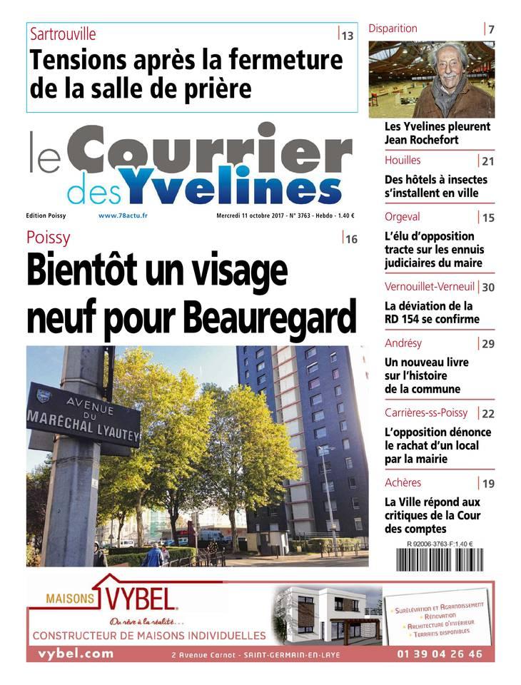 Le Courrier des Yvelines du 11 octobre 2017 à télécharger sur iPad