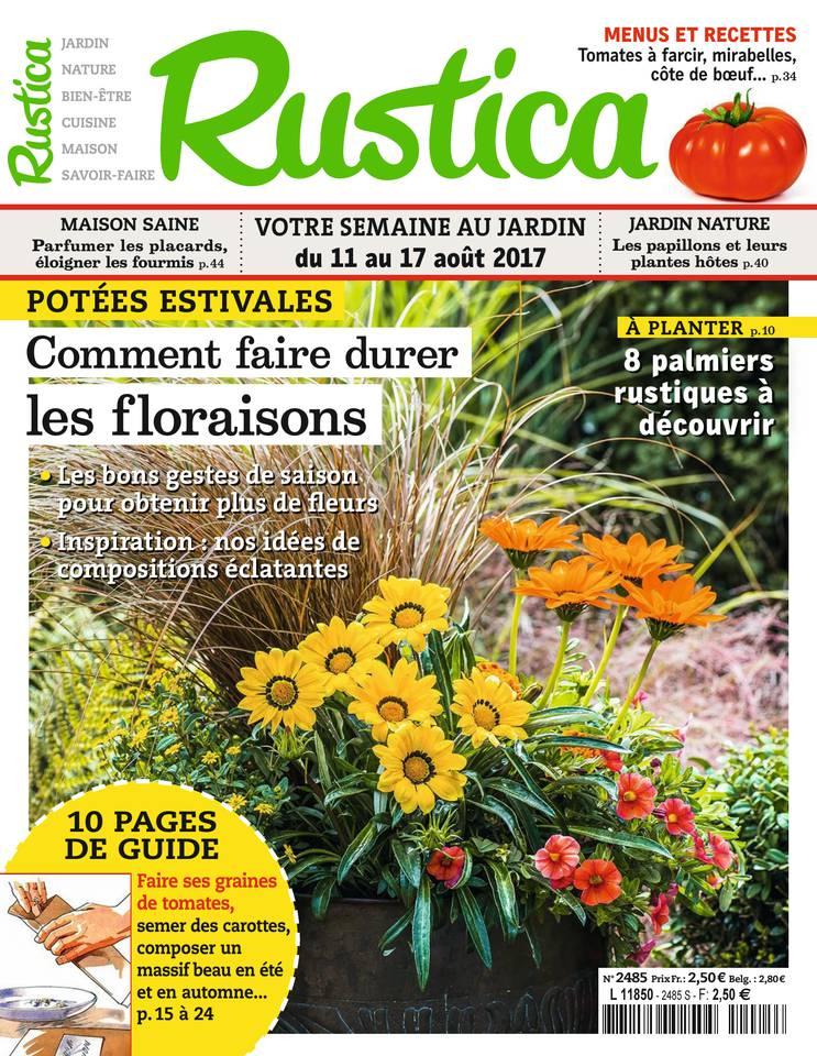 Rustica N°2485 du 11 août 2017 à télécharger sur iPad