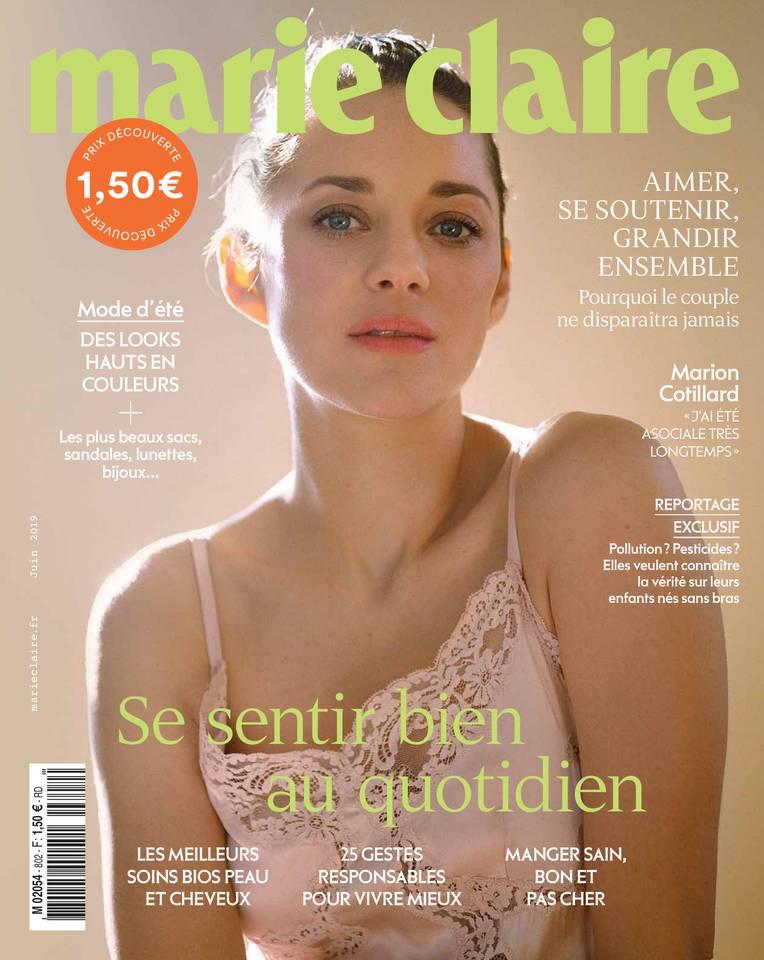 Abonnement à Marie Claire Pas Cher avec le BOUQUET ePresse.fr