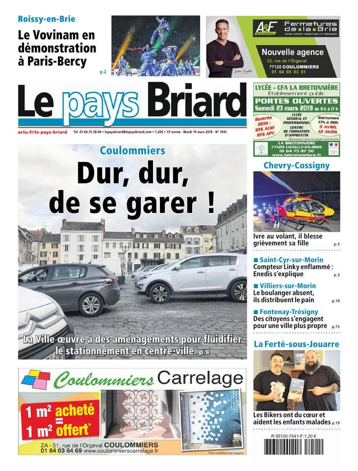 Le Pays Briard du 19 mars 2019