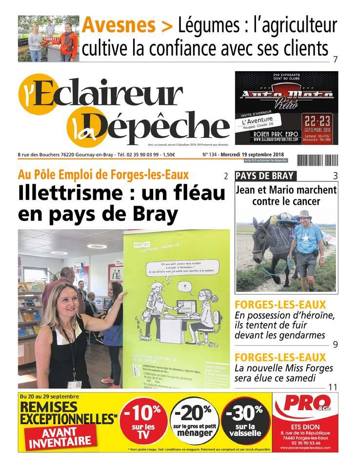 L'Eclaireur - La Dépêche du 19 septembre 2018
