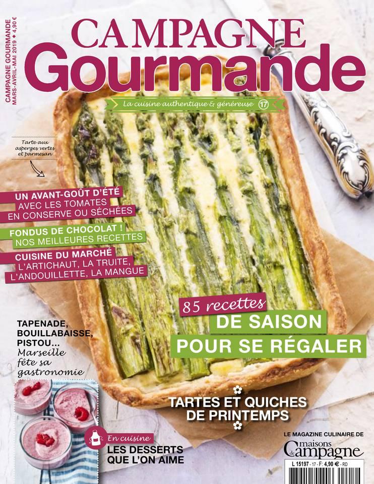 CAMPAGNE GOURMANDE N°17 du 05 mars 2019 à télécharger sur iPad