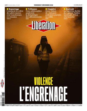 Libération - 07/12/2018 |