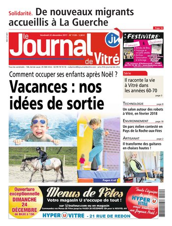le journal de vitr du 15 d cembre 2017 t l charger sur ipad. Black Bedroom Furniture Sets. Home Design Ideas