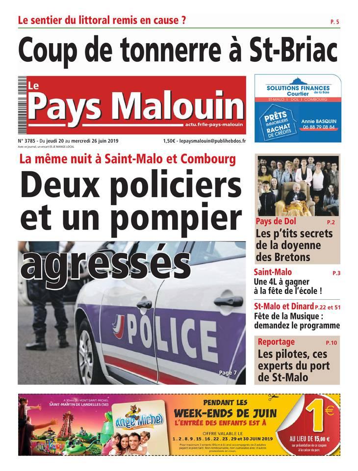 Le Pays Malouin du 20 juin 2019
