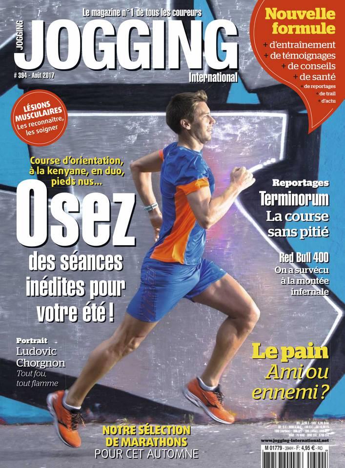 Jogging International N°394 du 21 juillet 2017 à télécharger sur iPad