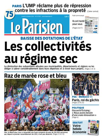 Le Parisien - Édition de Paris - 2014-10-06 |