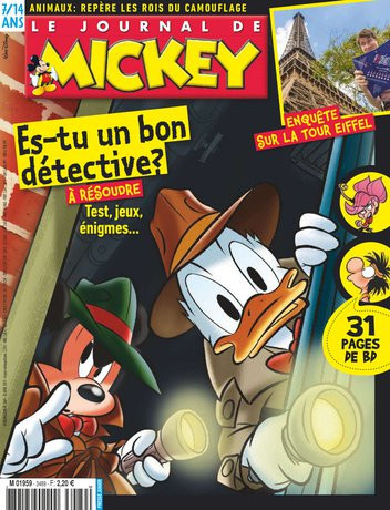 Le Journal de Mickey - 3489 |