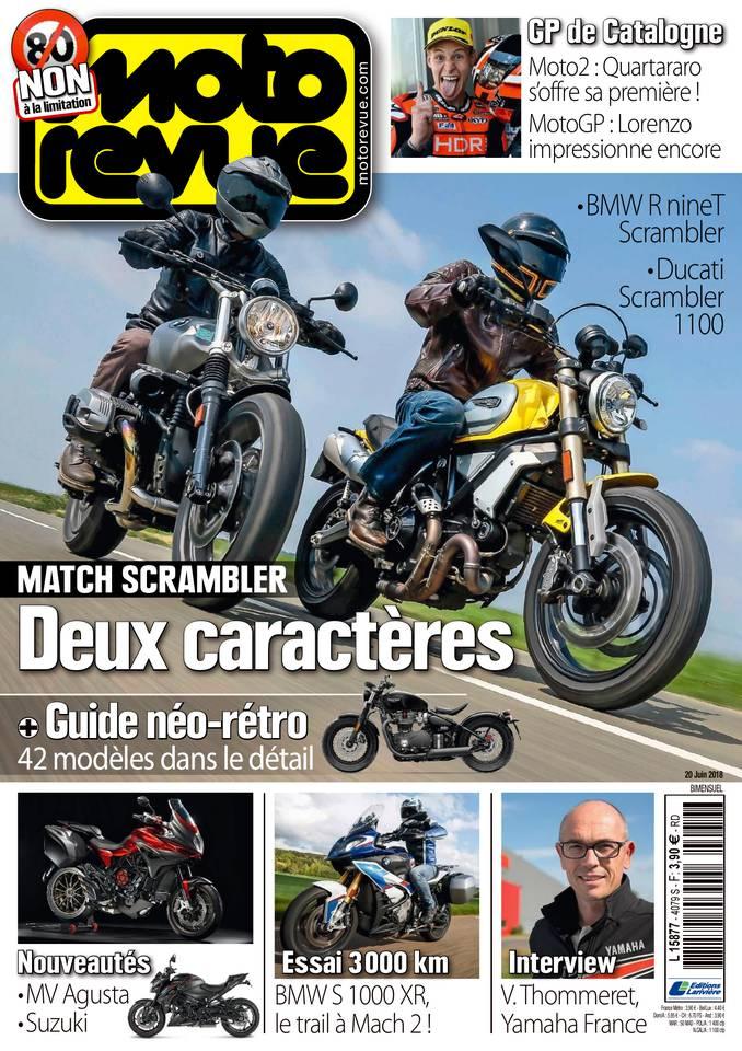 Moto revue du 20 juin 2018