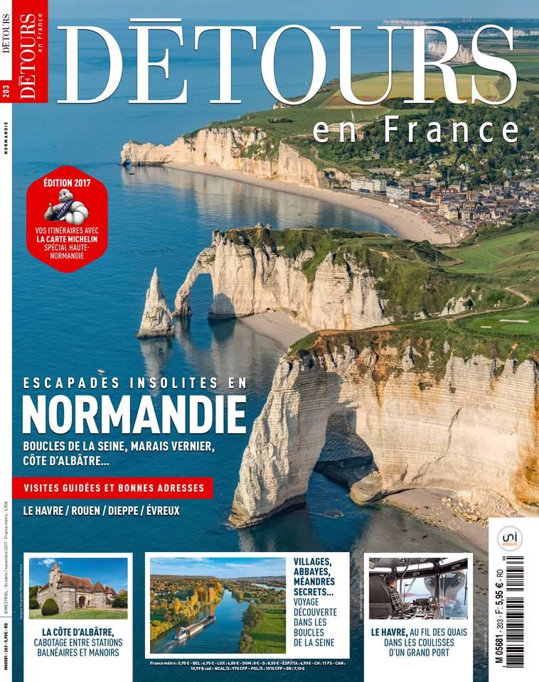 Détours en France N°203 du 13 octobre 2017 à télécharger sur iPad