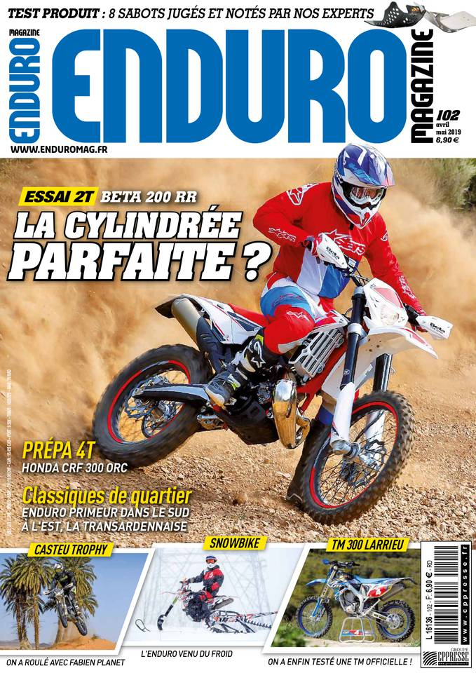 ENDURO MAGAZINE du 06 avril 2019