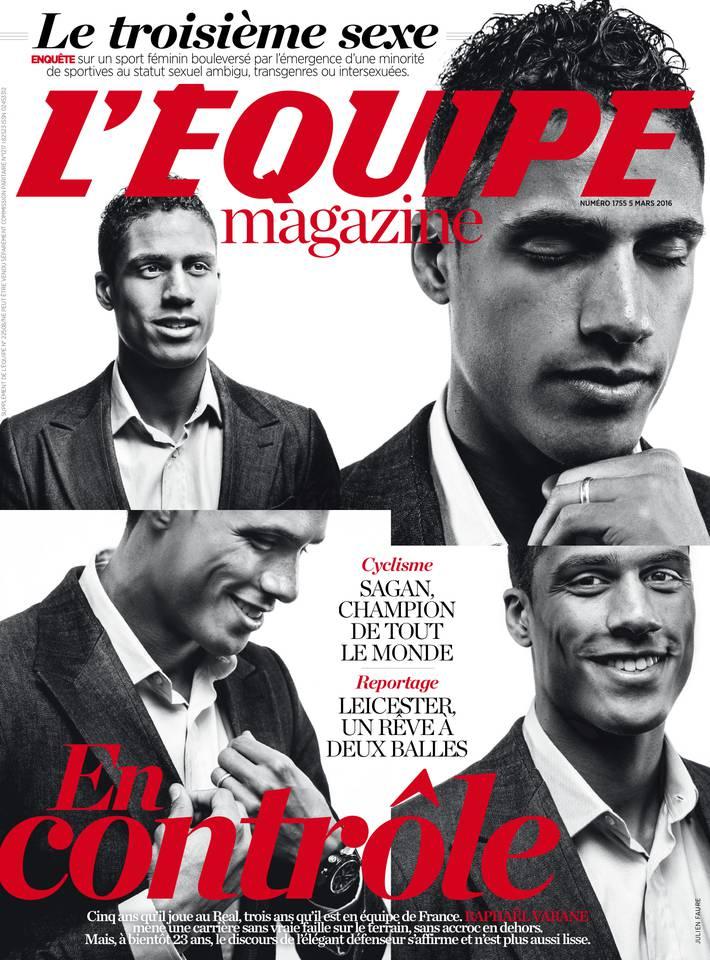 L'Équipe Magazine n° 1755 du samedi 05 mars 2016