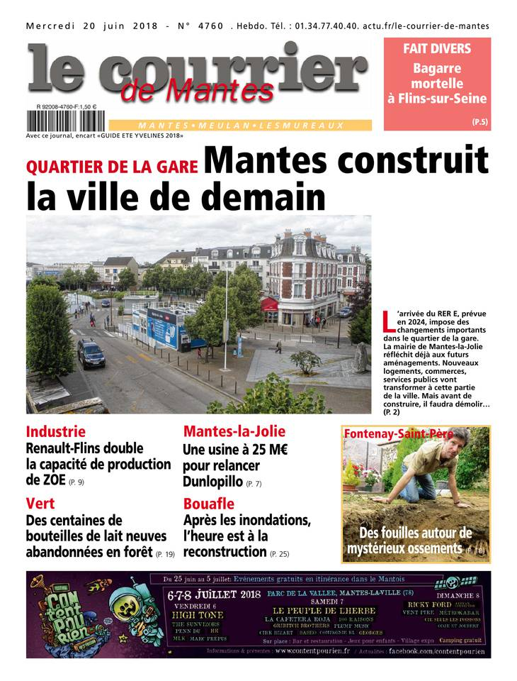 Le Courrier de Mantes du 20 juin 2018