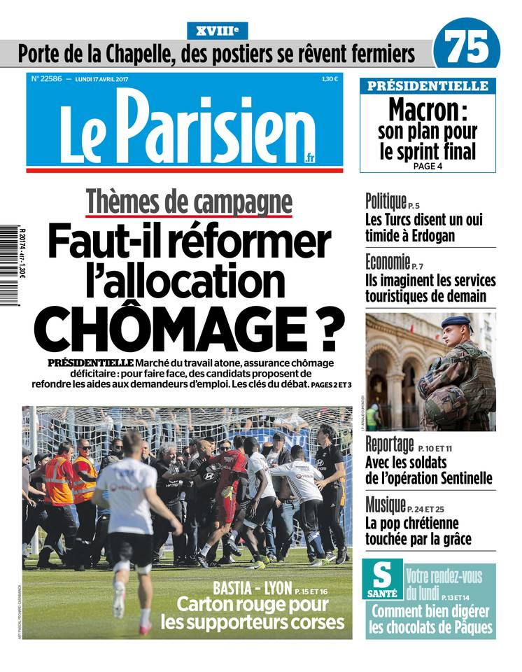 le parisien du 17 avril 2017 t l charger sur ipad. Black Bedroom Furniture Sets. Home Design Ideas