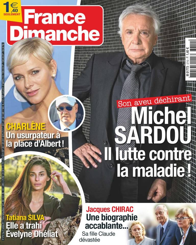 France Dimanche N°3710 du 06 octobre 2017 à télécharger sur iPad