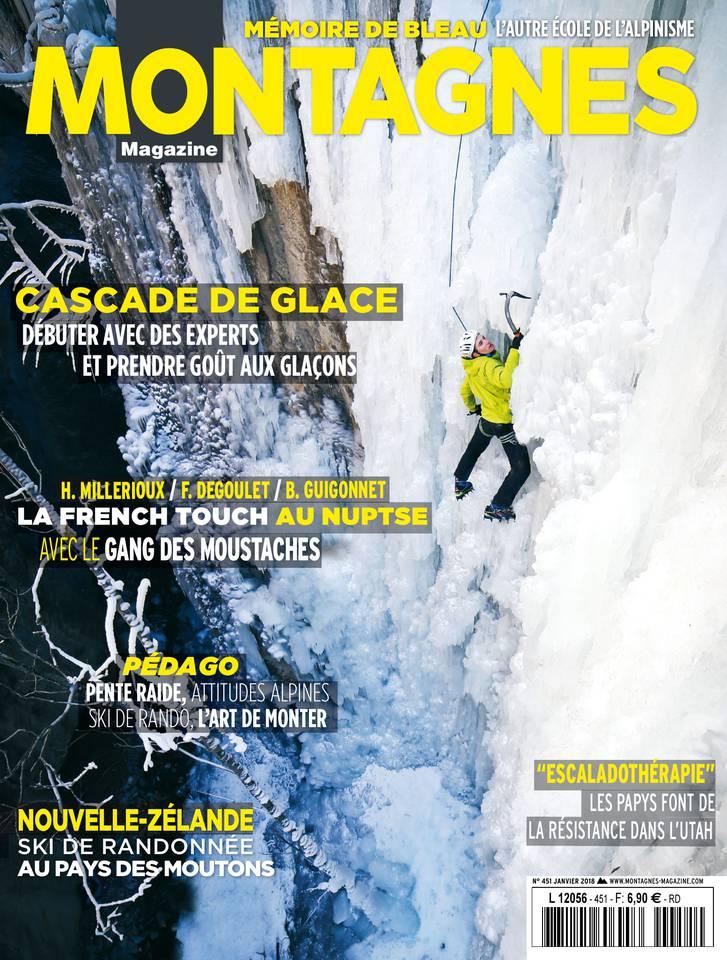 Montagnes Magazine N°451 du 01 janvier 2018 à télécharger sur iPad