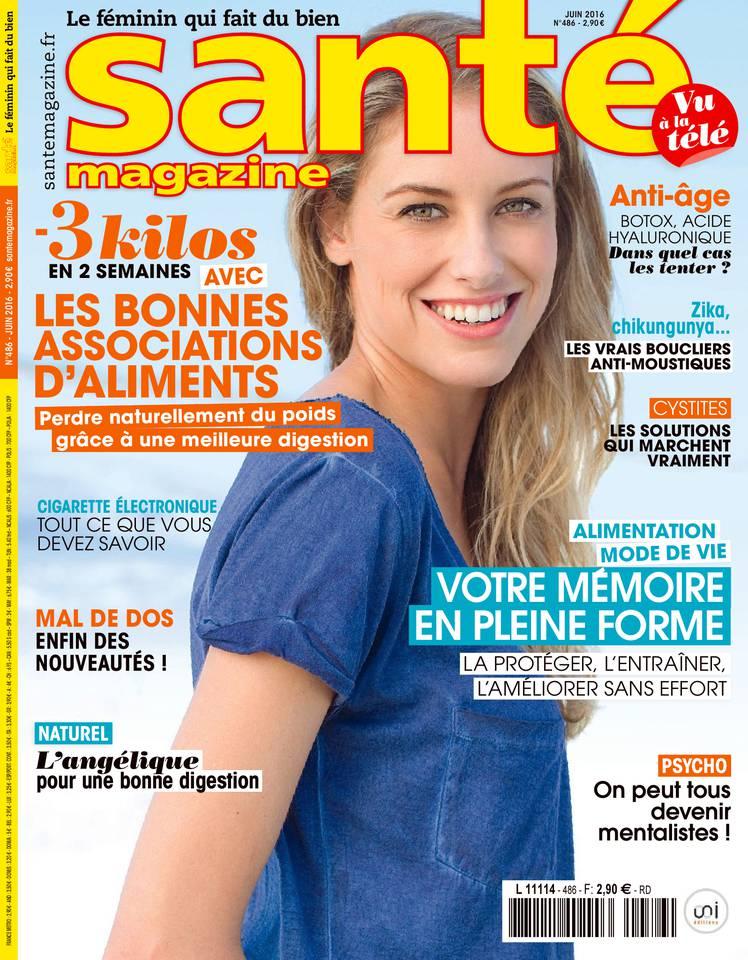 Santé Magazine N°486 du 03 mai 2016 à télécharger sur iPad