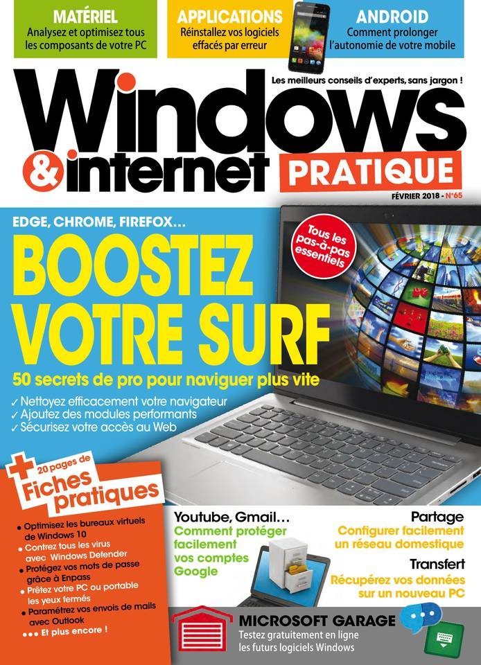 Abonnement Windows & Internet Pratique avec le BOUQUET ePresse.fr