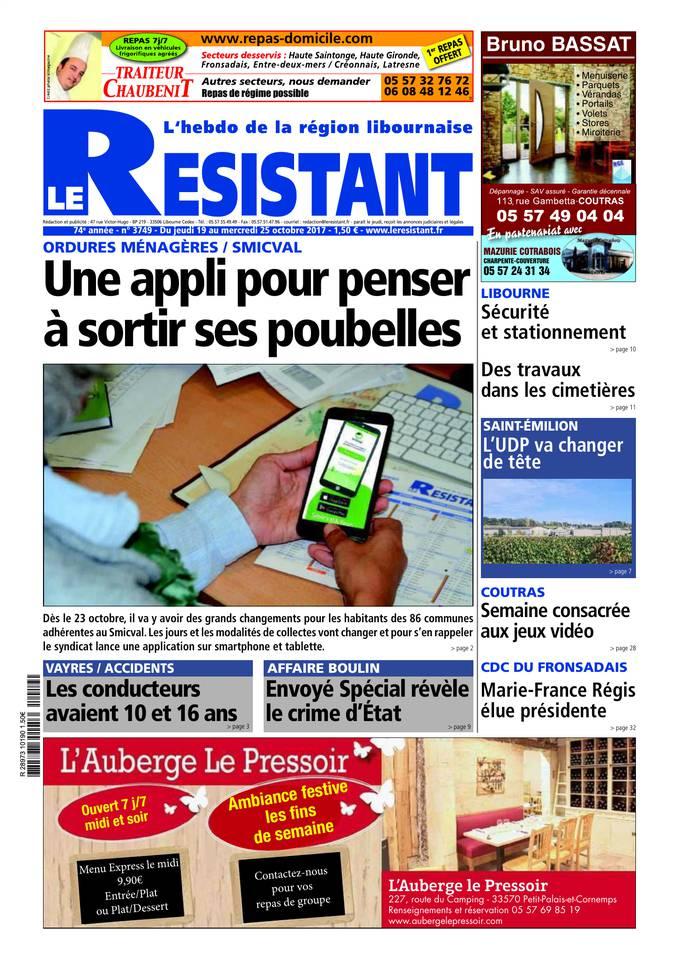 Abonnement Le Résistant Pas Cher avec BOUQUET INFO ePresse.fr