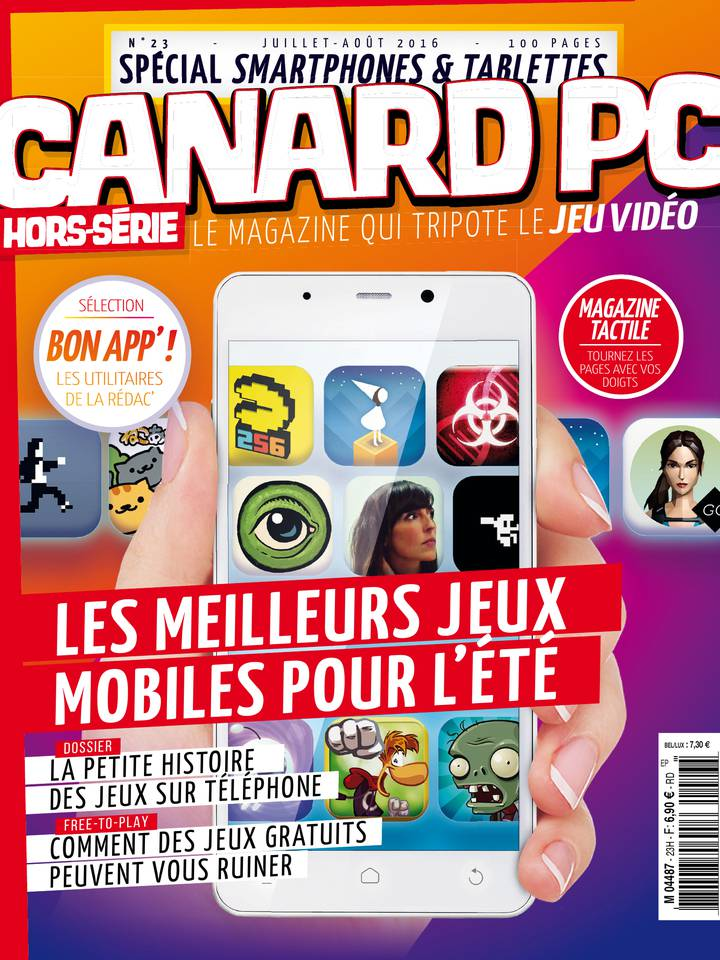 Canard PC Hors-Série N°23 du 15 août 2016 à télécharger sur iPad