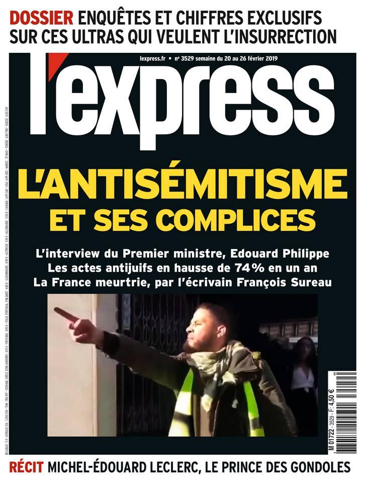 L'Express N°3529 du 20 février 2019 à télécharger sur iPad