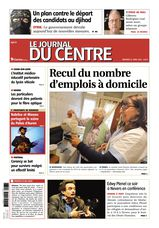 Une - Le Journal du Centre 23 avril 2014