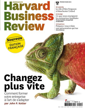 Une de «Harvard Business Review»